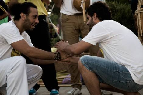 Karam and Khaled - Freedom Capoeira Collective