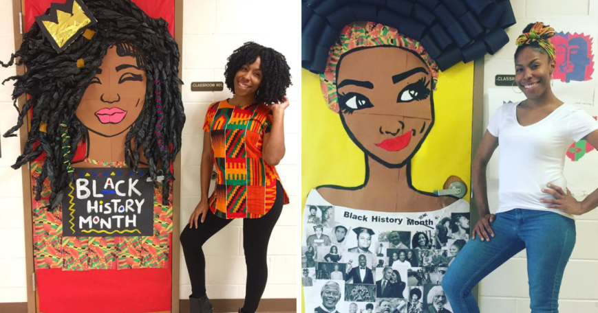 Teachers-Around-The-U.S-Are-Decking-Out-Their-Doors-In-Honor-Of-Black-History-Month-And-They-Are-Stunning
